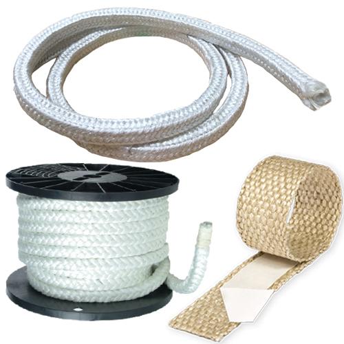 Fiberglass Boiler Ropes & Tape